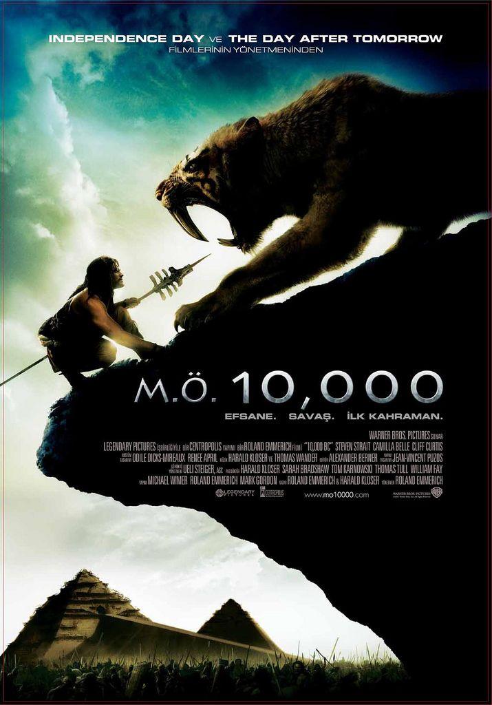 Milattan Once 10.000 - 10000 B.C - 2008 - BRRip Film Afis Movie Poster