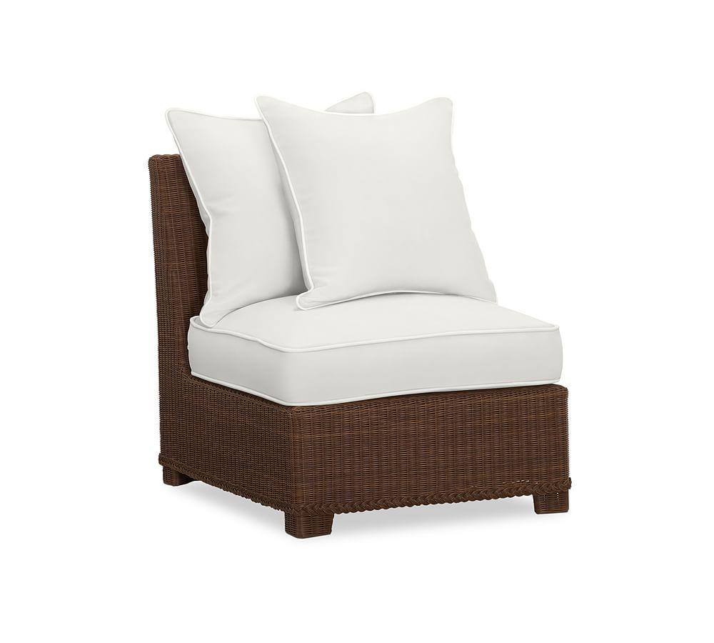Replacement Palmetto Armchair Cushion Neutral Ivory Outdoor