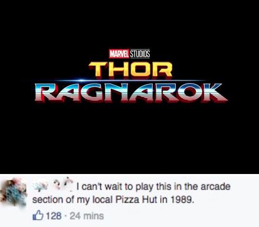 Same Reactions To The New Thor Ragnarok Logo Thor Thor Ragnarok Logo Blockbuster Video