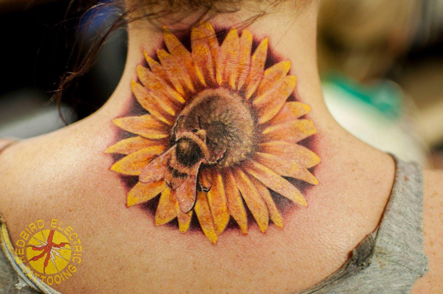 Jesse Sherman Redbird Electric Tattooing Springfield Illinois