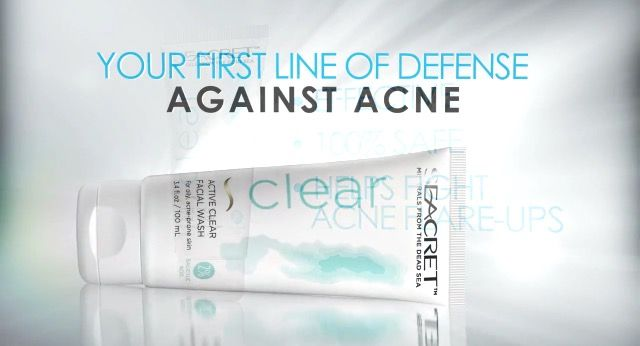 A victory in the fight against acne: SEACRET'S Active CLEAR Facial Wash helps clear your skin of blemishes, leaves it looking bright and hydrated without excess oils, and works to prevent future break outs from happening. SEACRET takes salicylic acid and combines it with the unique Dead Sea minerals they're famous for. The result? Nothing short of perfection. Active CLEAR Facial Wash is now available in the US! Http://www.seacretdirect.com/evelynleon
