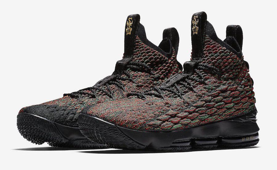 Release Date: Nike LeBron 15 BHM
