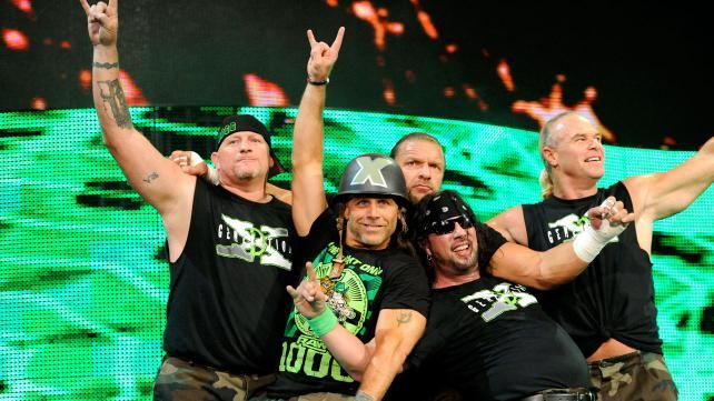 Risultati immagini per sbret new age outlaws and x pac