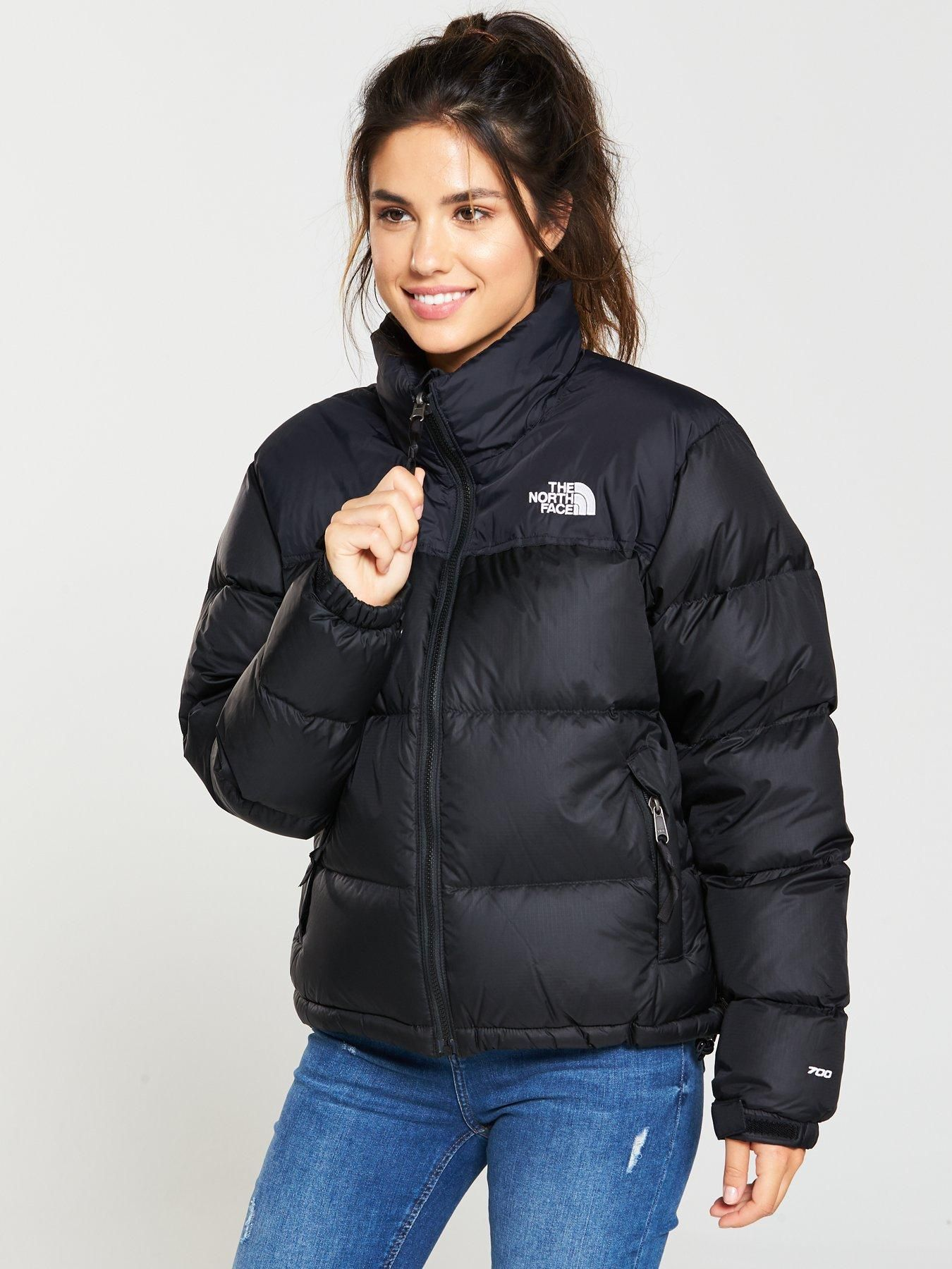 1996 Retro Nuptse Jacket Black North Face Outfits North Face Coat North Face Puffer Jacket