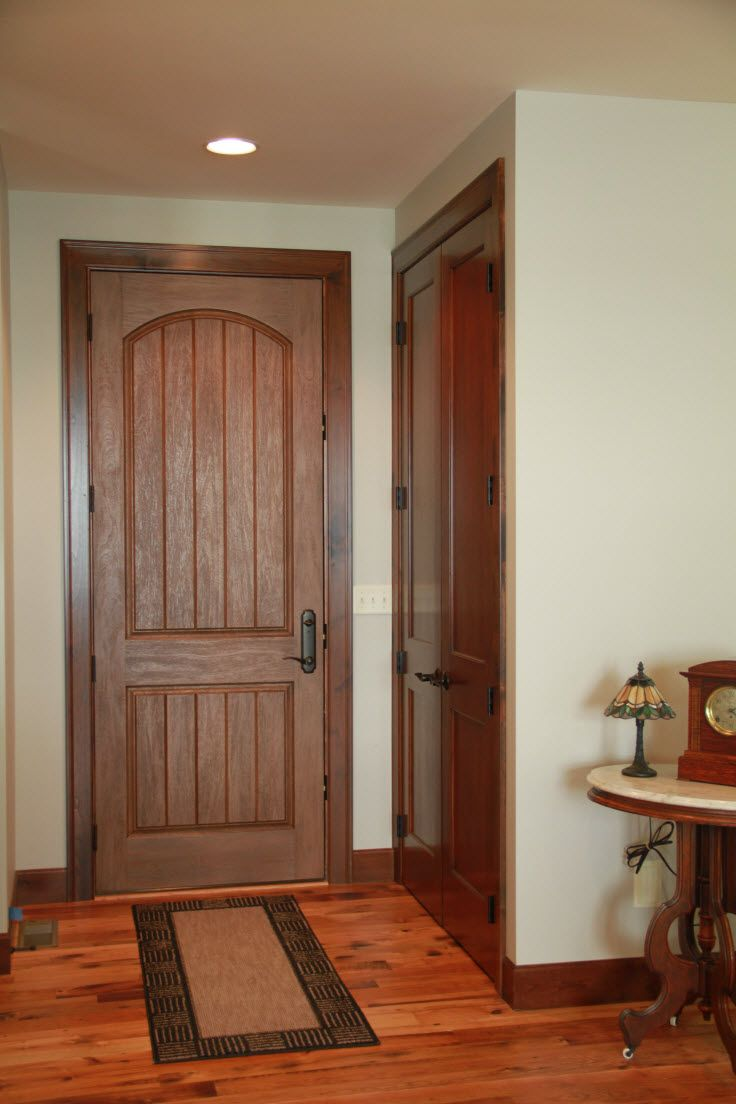 Exterior Doors Rustic Mahogany Fiberglass Entry Door Bayer Built