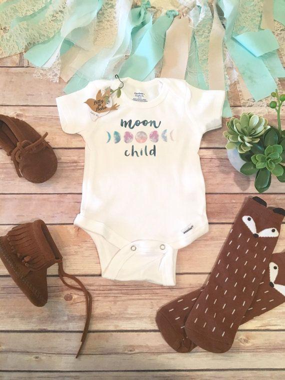 Cute Infant Baby Boys Girls Moon Bib