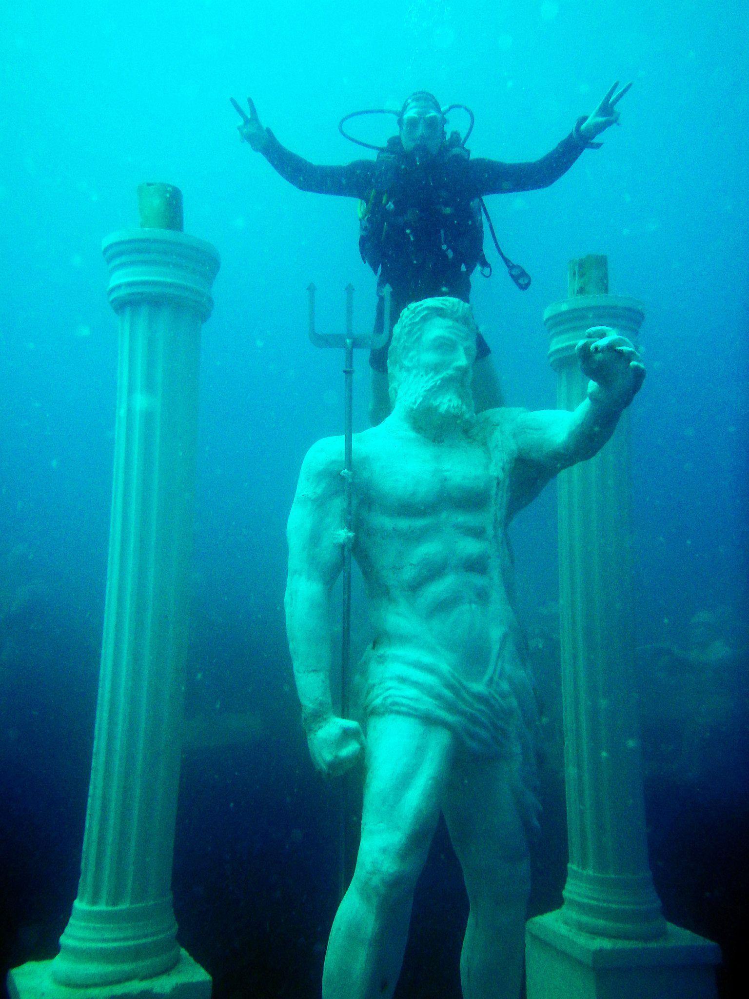 Underwater Museum Side Antalya Turkey Koto Travel Colors - Europes first ever underwater museum is full of hyperrealistic human sculptures