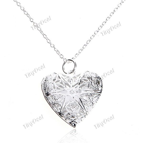 Infiera trendy heart pendant necklace nechlace chain jewelry neck infiera trendy heart pendant necklace nechlace chain jewelry neck decoration for lady woman girls mozeypictures Gallery