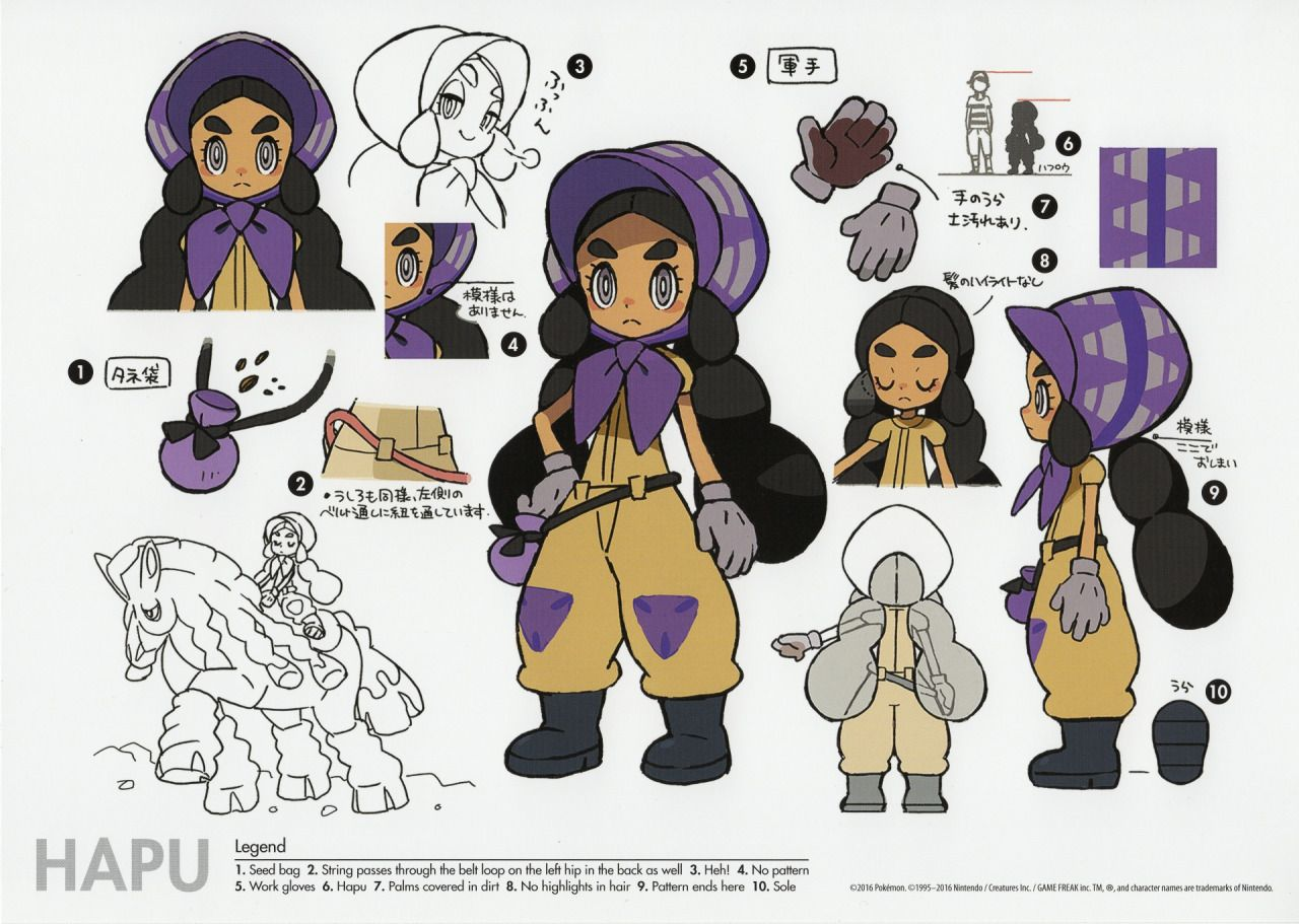 Animation News Art Punishedmanfound Some Scans Of The Concept Art Concept Art Characters Character Concept Pokemon Art