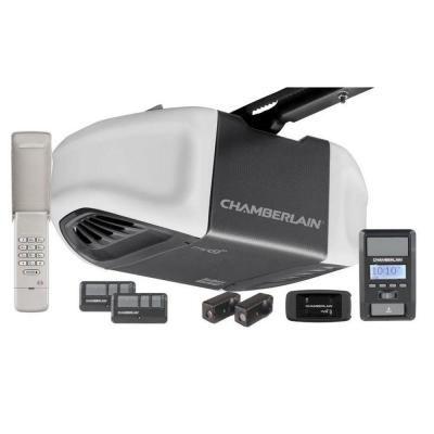 Chamberlain 1 25 Hps Belt Drive Battery Backup Smartphone Ready