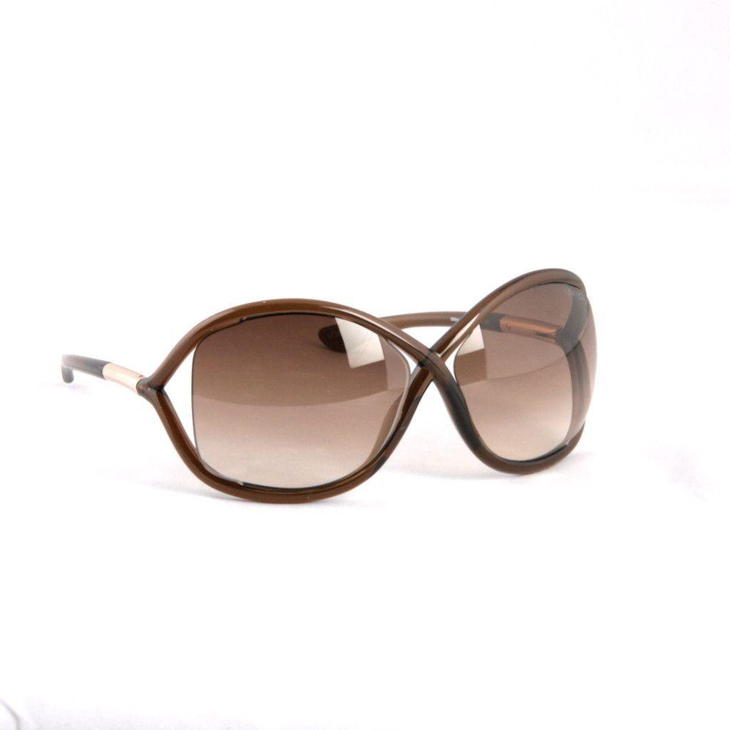 TOM FORD -Whitney FT009 692 BROWN Sunglasses   ACESSÓRIOS E ...