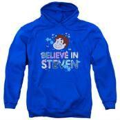 Steven Universe Believe in Steven Adult Royal Hoodie