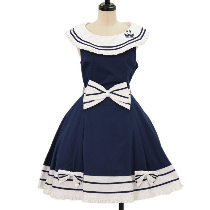 a9052fc2d96ea セーラージャンパースカート|ロリィタファッションmetamorphose ...