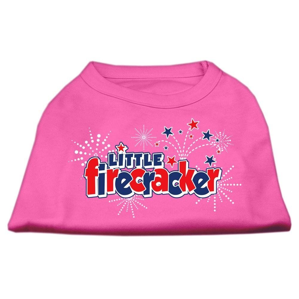 Mirage cat Products 20 Inch Little Firecracker Screen Print Shirts