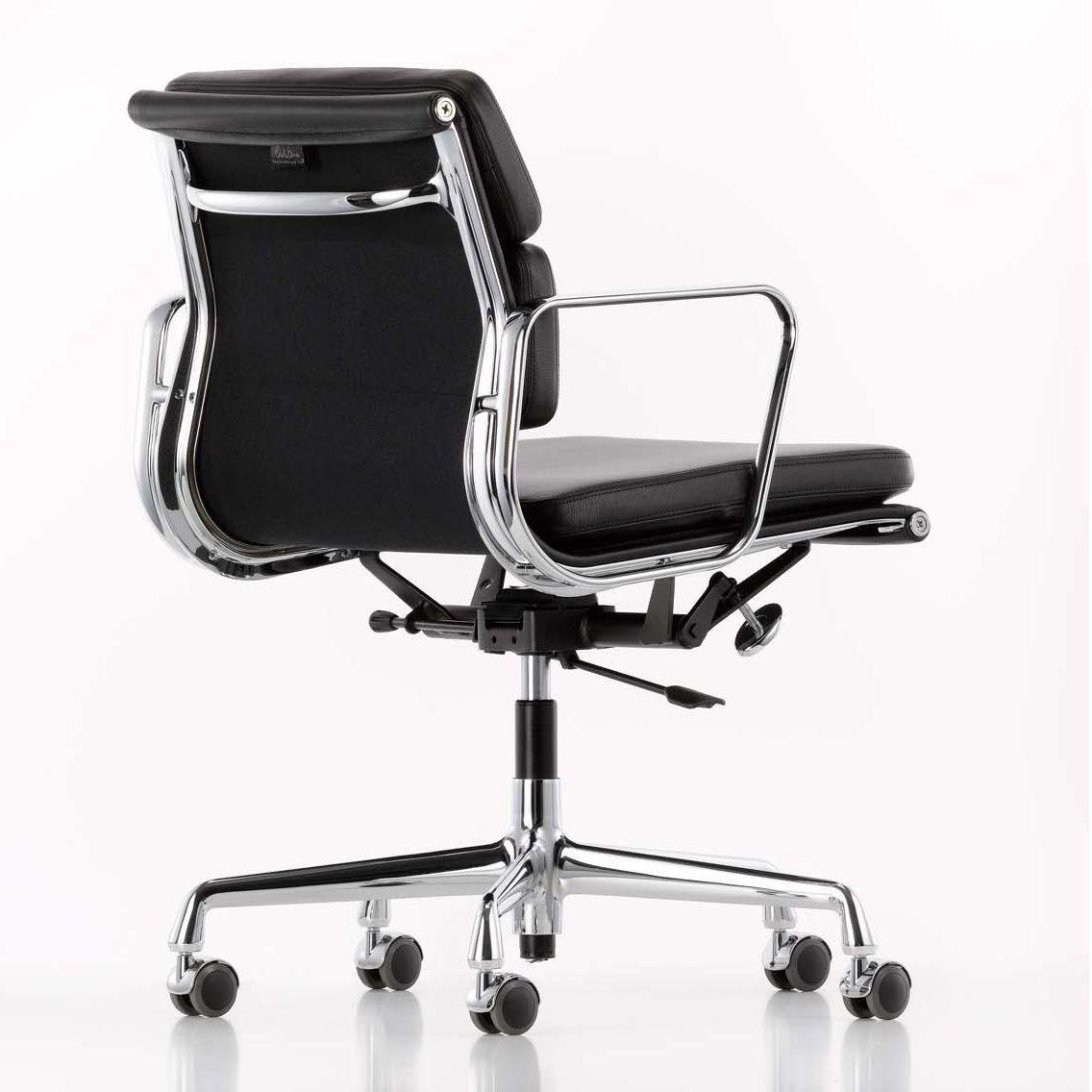 Ea 217 soft pad eames alu chair office chair luxury