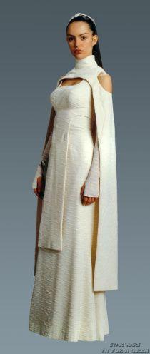 Sheltay Retrac, Star Wars Episode III. Wearing a dress ...