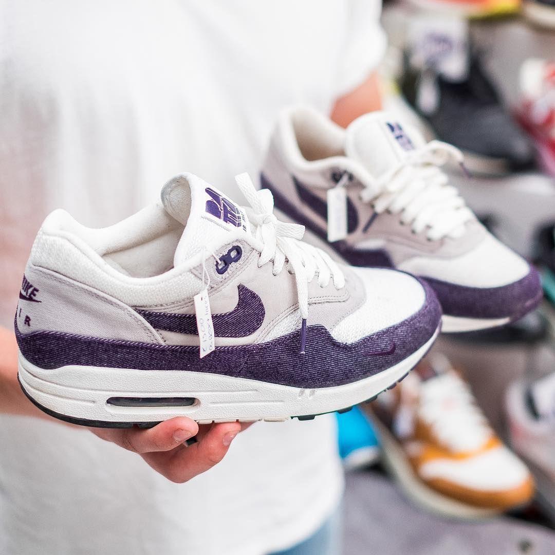 Regularidad evitar Grave  Nike Air Max 1 Patta Purple Denim