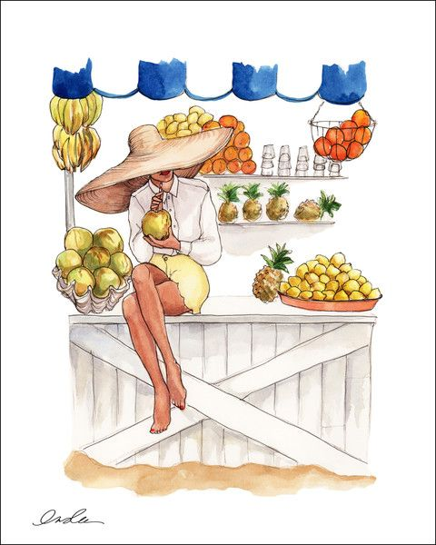 Calendar Girl June Kindle : June calendar girl illustrator inslee haynes