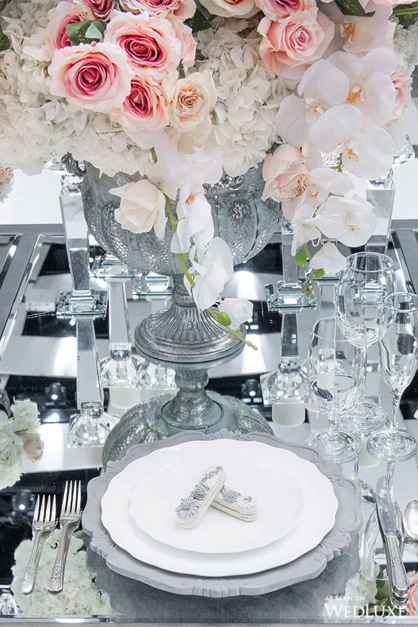 Ethereal Reflections Table setting etiquette, Reception