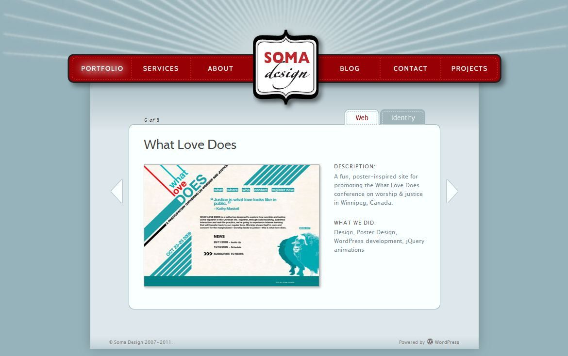 Neat Navigation Web Design Poster Design What Is Love