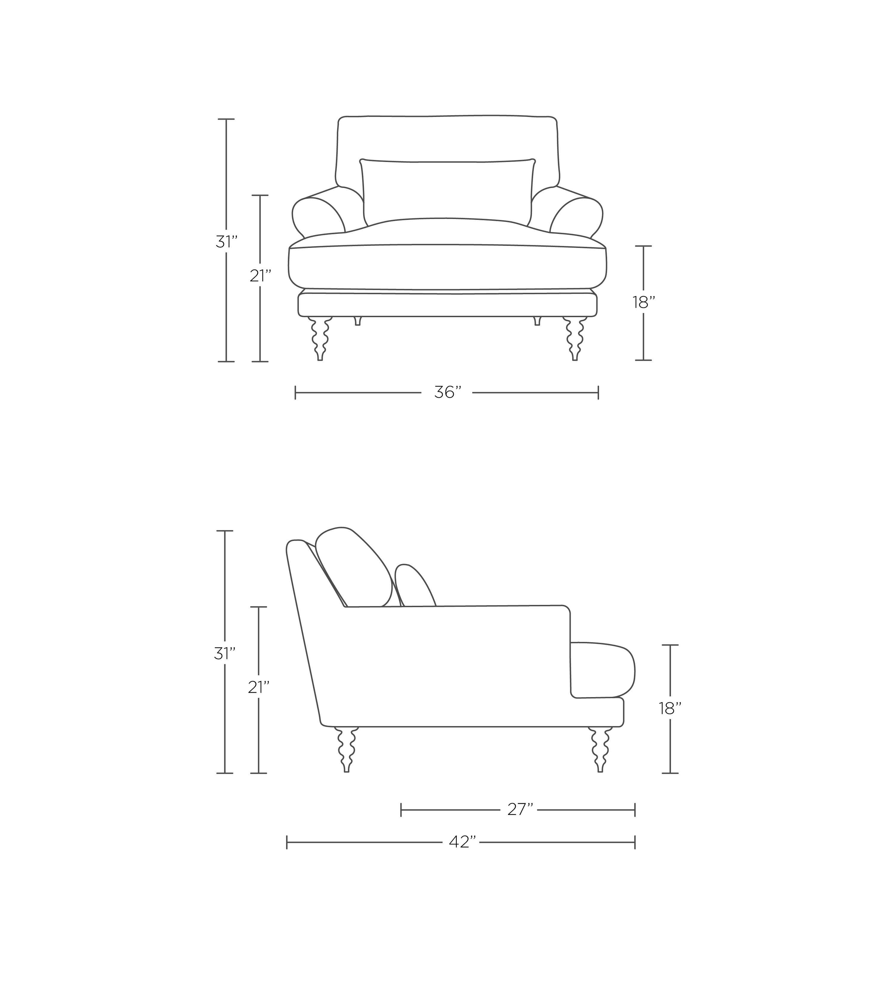 Maxwell In 2020 Loft Interior Design Chair Slipcovers