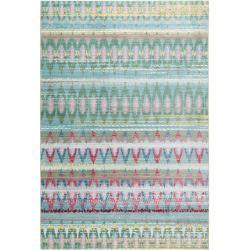Photo of benuta Trends Kurzflor Teppich Visconti Grün 200×300 cm – Moderner Teppich für Wohnzimmer