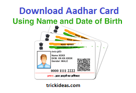 Looking For The Ways For Aadhar Card Download By Name And Date Of Birth If Yes Then This Article Is For You This Post Is A Aadhar Card Card Downloads Names