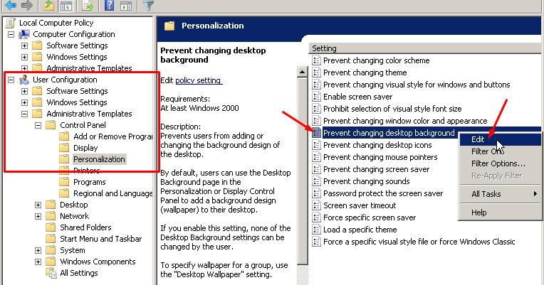 Paling Bagus 13 Wallpaper Desktop Tidak Bisa Diganti Mengunci Wallpaper Permanen Desktop Windows 7 8 10 Pics Kenapa Wallpaper Kompu