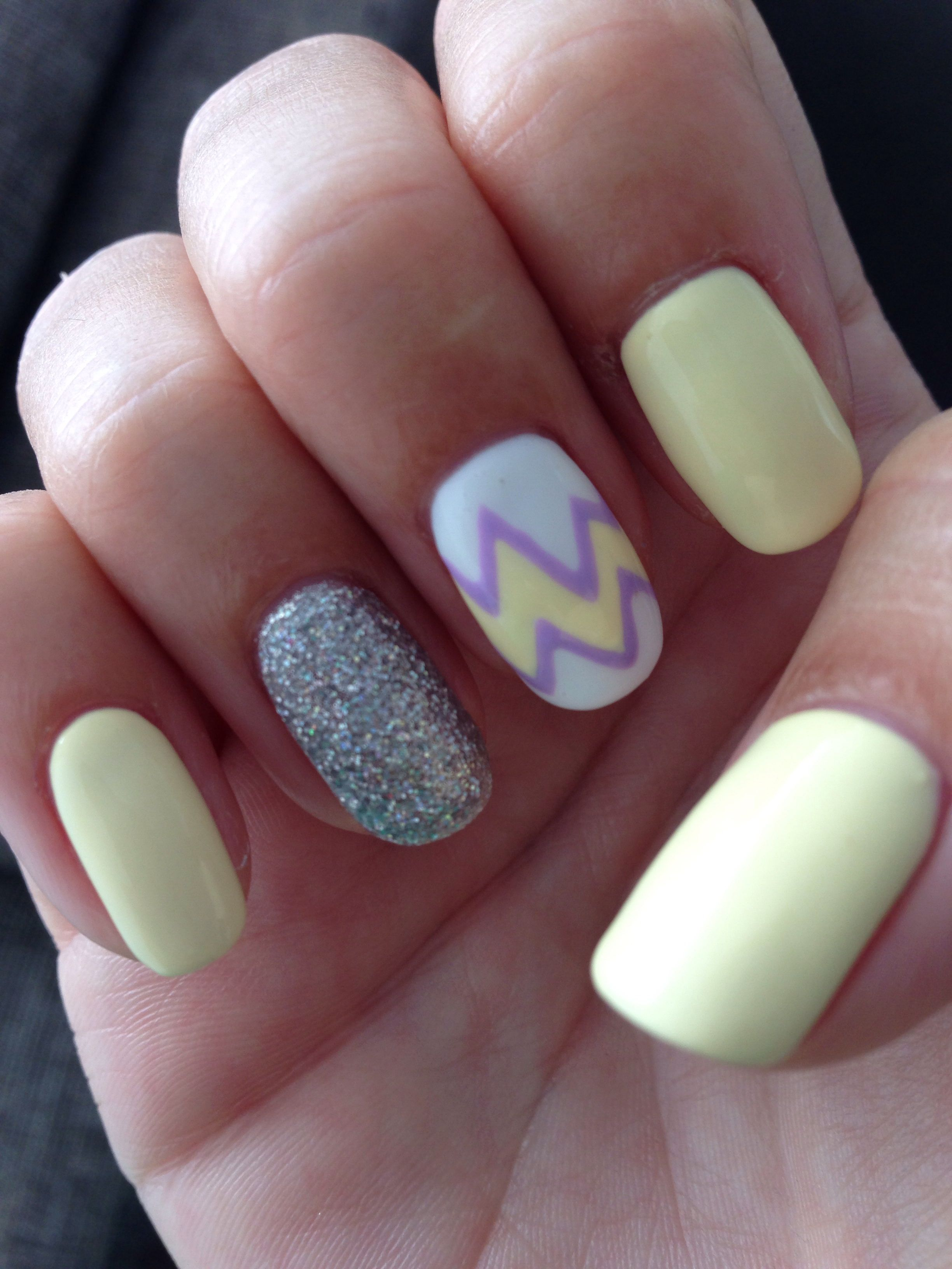 Gel polish on natural nails by cherry nava in auckland nz