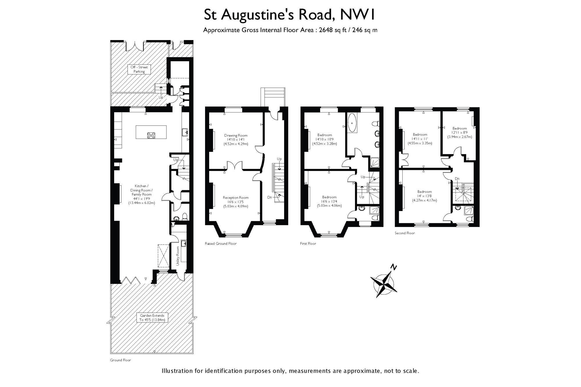 Primrose Hill London 1800s Townhouse Floorplan Updated Floor Plans Renting A House Historic Homes