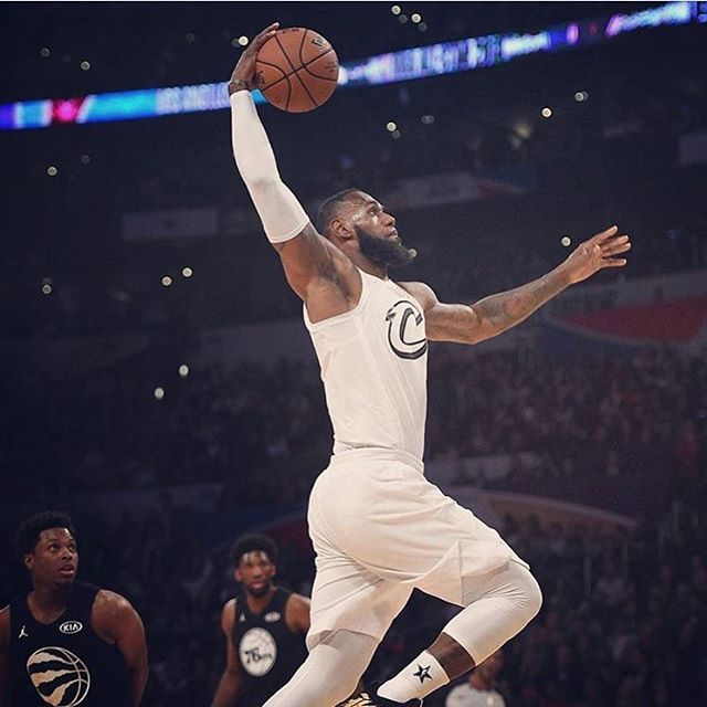 c570d6a22ad LeBron James was named MVP of the 2018 NBA All-Star Game. Did you watch