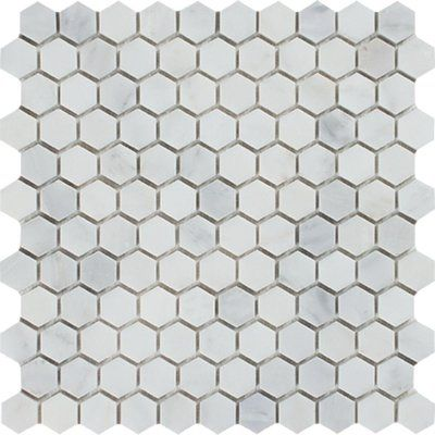 Antiqua Feelings 3 X 6 Ceramic Subway Tile Hexagon Mosaic Tile