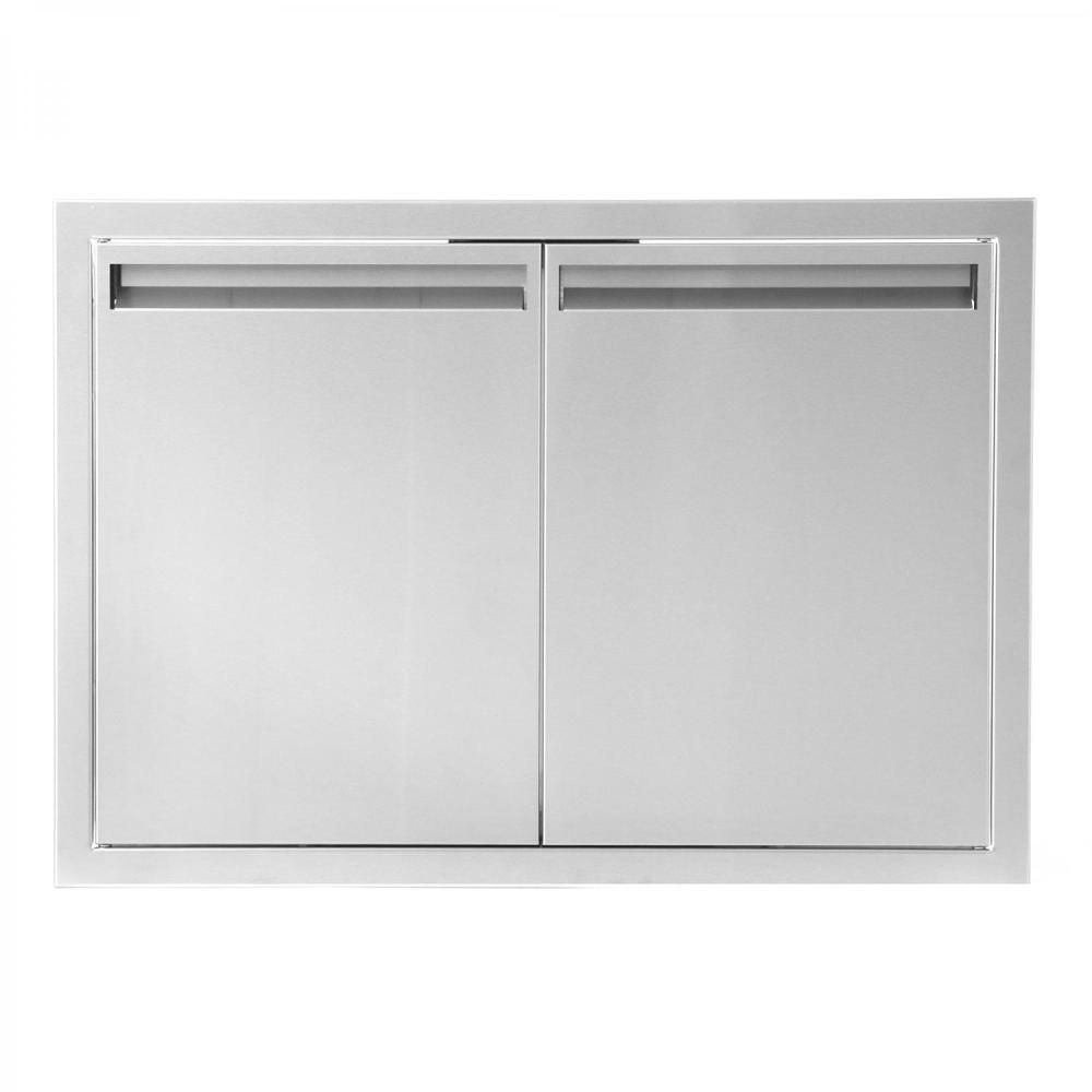 Aspen Series 30 Inch Stainless Steel Enclosed Cabinet Storage With Shelf Outdoor Kitchen Cabinets Outdoor Kitchen Bars Kitchen Cabinet Storage
