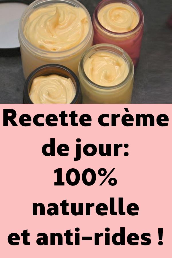 Recette crème de jour: 100% naturelle et anti-rides ! | Crème visage maison, Crèmes antirides ...