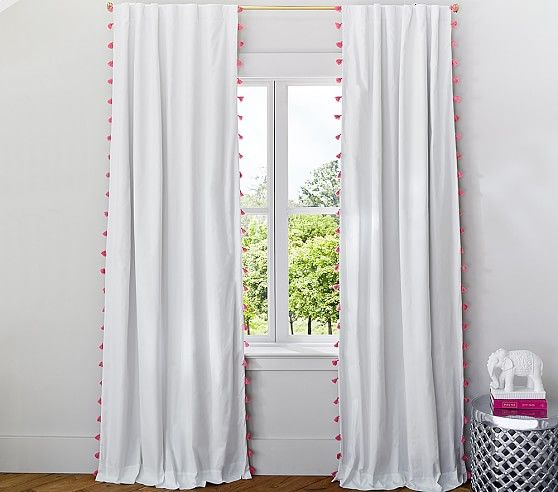 Bella Tel Blackout Panel Pottery Barn Kids This Would Be A Really Easy Diy