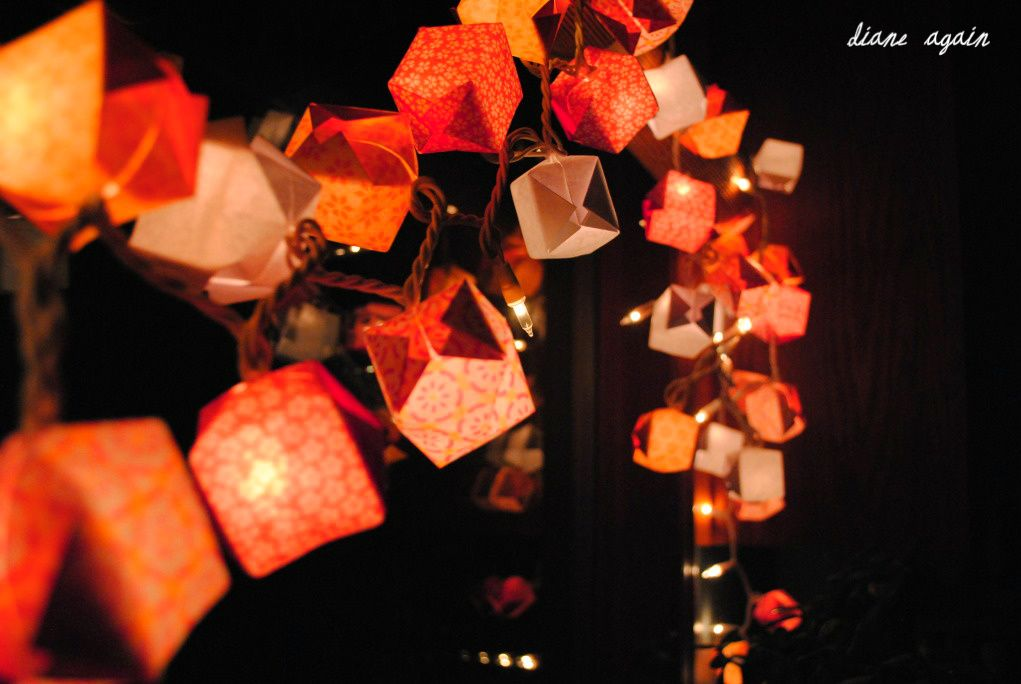 origami box lights- How would these sell at a craft show?