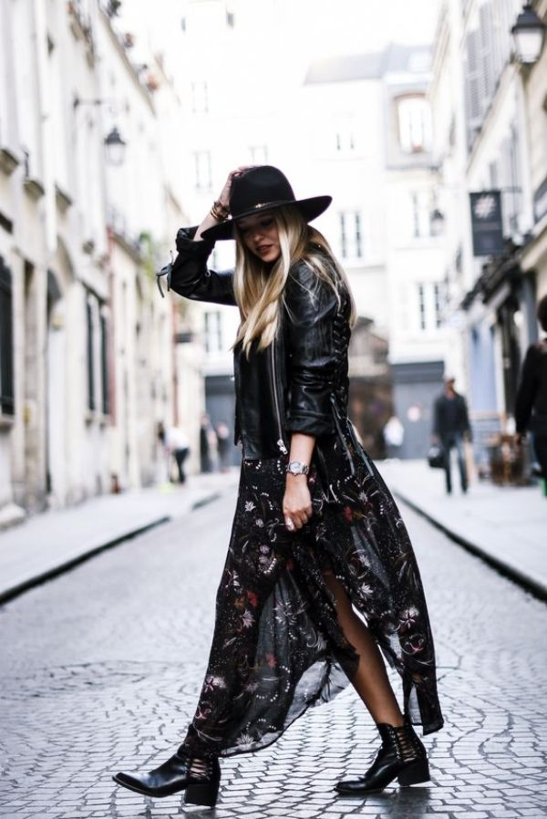 40 Still to be copied, boho winter outfits