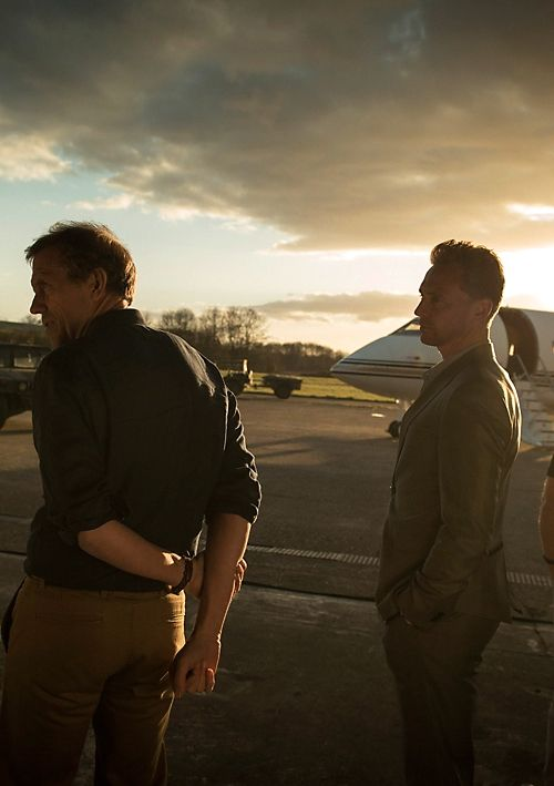 Tom Hiddleston and Hugh Laurie as Jonathan Pine in The Night Manager. Full size image: http://ww4.sinaimg.cn/large/6e14d388gw1f0p6k0cr7wj20ti0jpq9o.jpg .Source: http://www.amctvce.com/uncategorized/the-night-manager-gallery#/0 (Via Torrilla, Weibo)