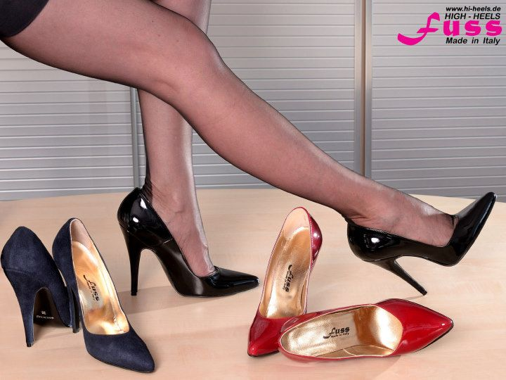 High Heels in schwarz in 92637 Weiden in der Oberpfalz for