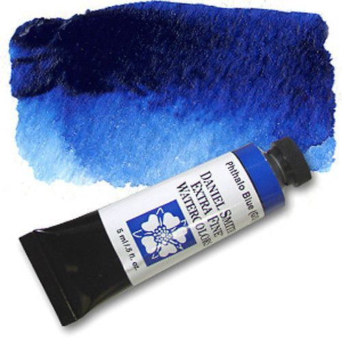 Daniel Smith Extra Fine Watercolors 5ml Phthalo Blue Red Shade
