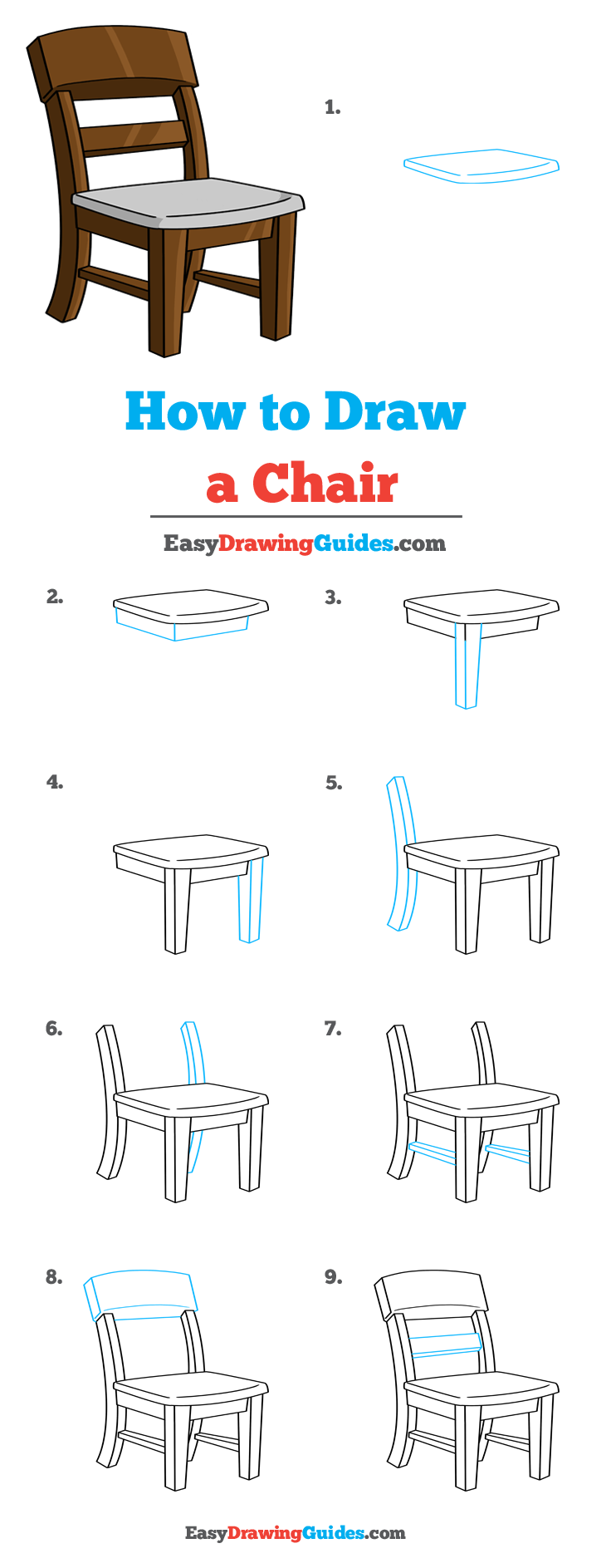 How To Draw A Chair Really Easy Drawing Tutorial In 2020 Drawing Tutorial Easy Drawing Tutorial Easy Drawings