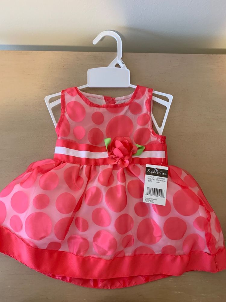 Baby Girl Clothes Dresses 6 9 Months And 12 Month Fashion Clothing Shoes Accessories Babytoddlerclothing Gir Girl Outfits Baby Girl Clothes Dress Outfits