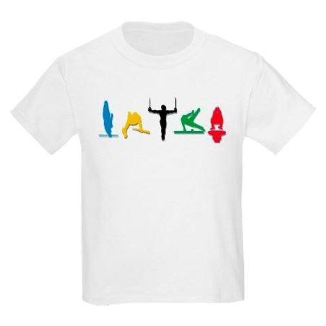 365c5f3022e6 Mens Gymnastics Kids Light T-Shirt | Shirt ideas for cameron ...