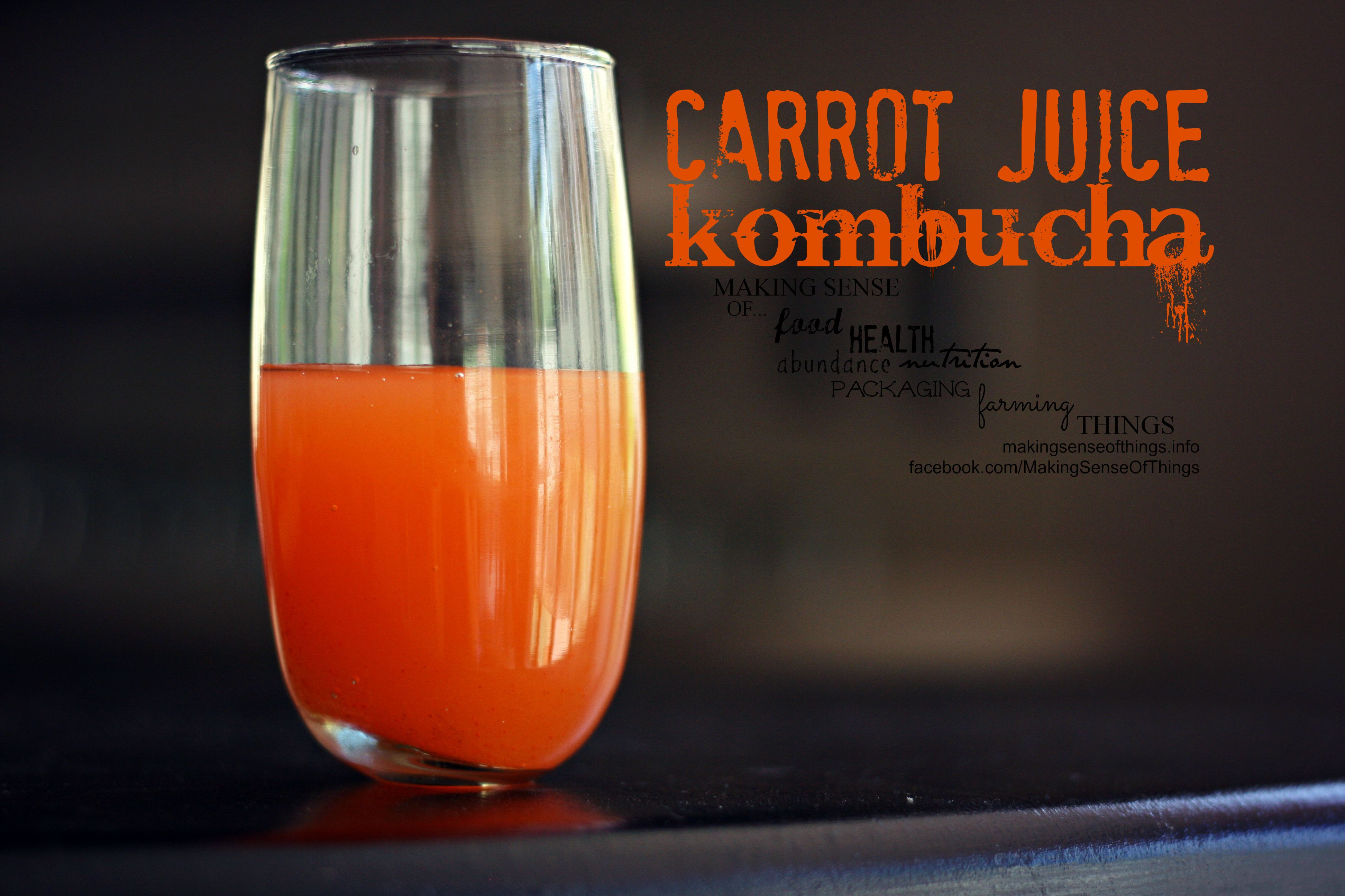 how to make a carrot juice smoothie