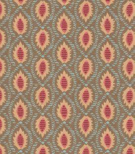 Home Decor Fabric-Annie Selke Seema/Oxford Chocolate/Terracotta: home decor fabric: fabric: Shop | Joann.com