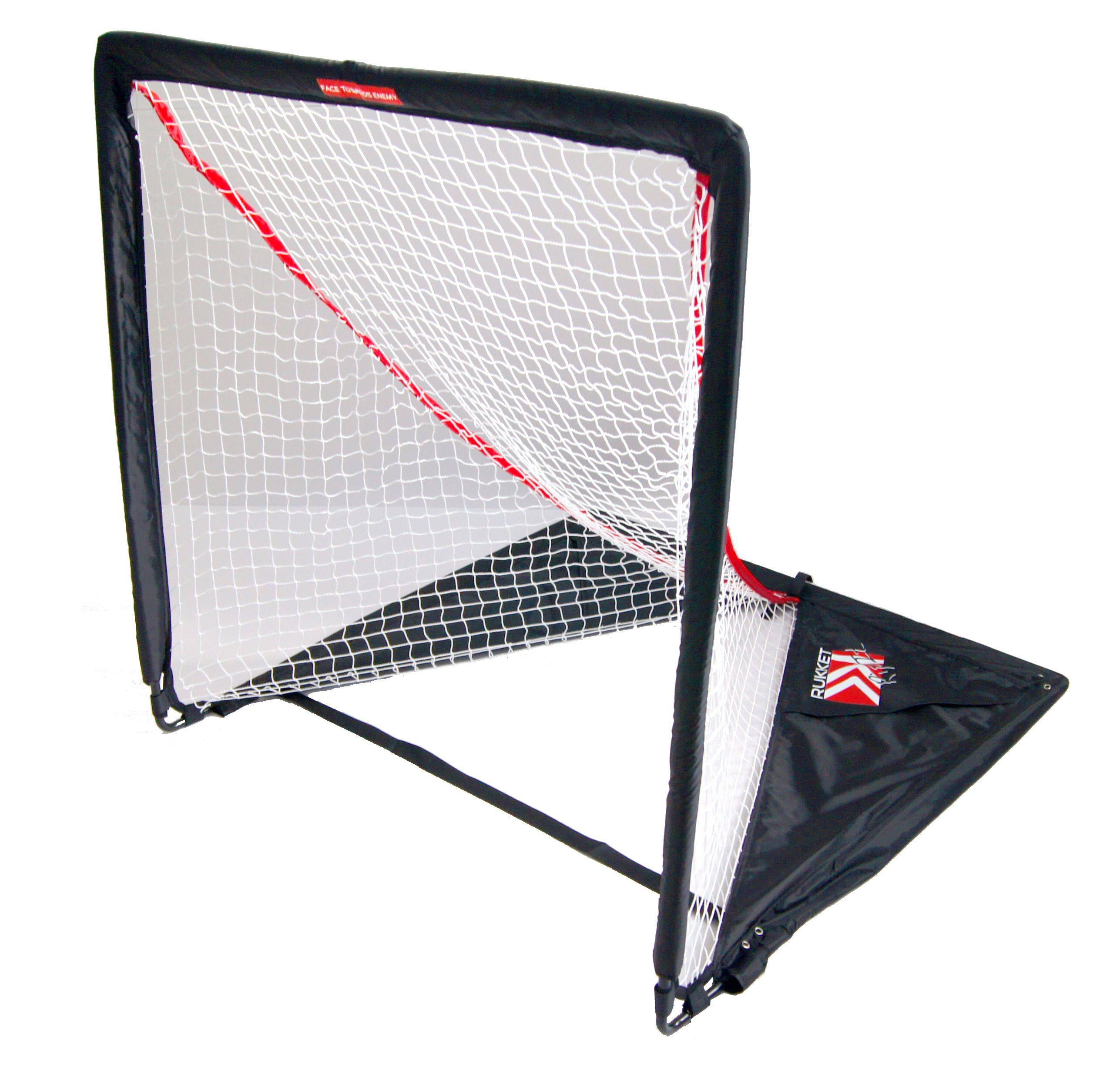 The Rukket Rip It Lacrosse goal is the lightest most portable