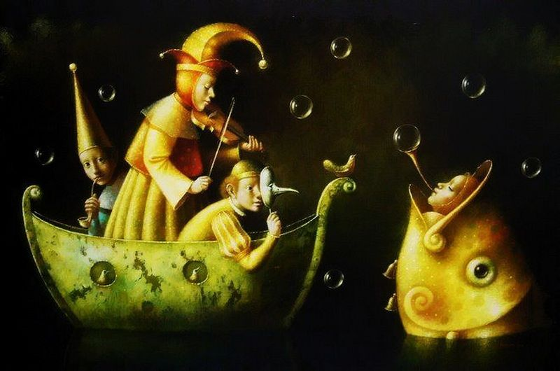 ronald companoca | Historia en miniatura. Artista Ronald Companoca