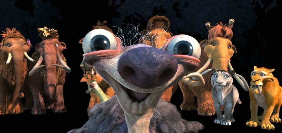 ice age continental drift  main on end title with