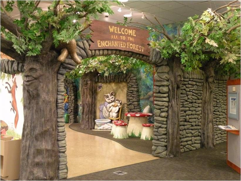 Create a themed entrance way so that your guests can ...