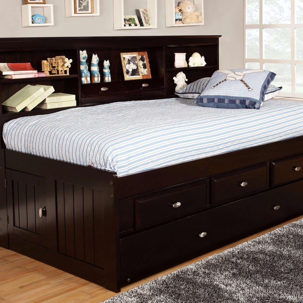 Captain Twin Bed With Underbed Drawers | //ezserver.us ...